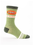 Blue Q Men's Crew Sock