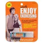 Blue Q Breath Spray: Enjoy Exercising