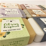L'epi de Provence Triple Milled Shea Butter Vegetable Soaps from France (SET OF 4)