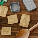 LETTER PRESSED - LETTER cookies with something to say