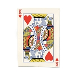 King of Hearts Tea Towel