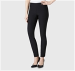 "Lisette Solid Magical Lycra 31"" Style 805 Black Pant"
