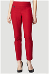 "Lisette Solid Magical Lycra 31"" Style 805 Red Pant"