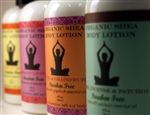8 oz Zen Inspirations Organic Shea Body Lotion