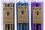 Queen Bee Glitter Candles (Set of 2)