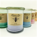 Queen Bee Poured Glass Candle 9 oz