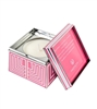 Soziety Pucker Up Pink Trapezoid Tin Candle