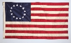 Betsy Ross Printed Flag - 4' x 6' - Nylon