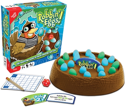 Robbin' Eggs! Family & Party Board Game