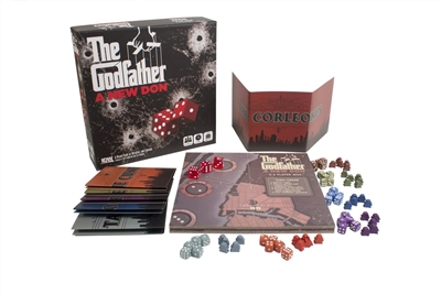 The Godfather: A New Don Family & Party Board Game