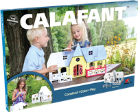 Pony Farm Kid's Paper Craft Model Kit