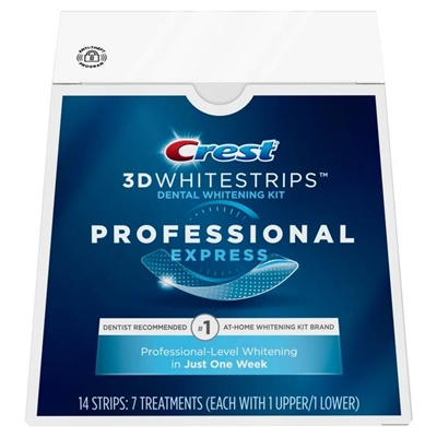 NEW Crest Professional Express 3D Whitestrips