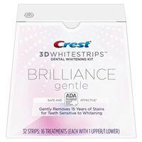 NEW Crest Brilliance Gentle 3D Whitestrips