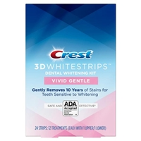 NEW Crest Vivid White Gentle 3D Whitestrips