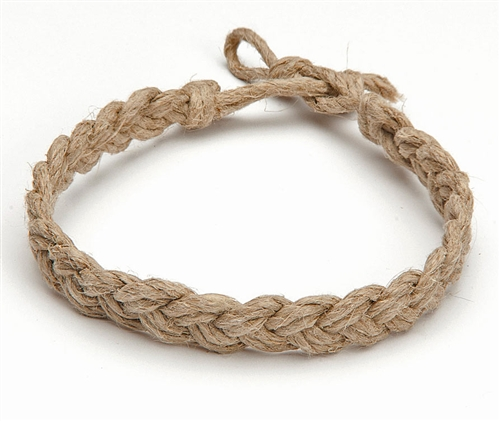 How To Make Hemp Necklaces: BA4-H Hemp Cord Braided Bracelet/Anklet