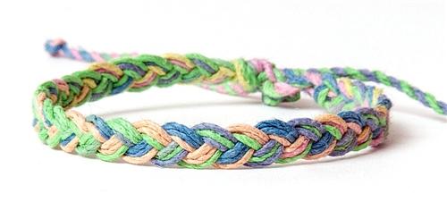 Hemp Braided Bracelet Anklet Larger Photo Email A Friend