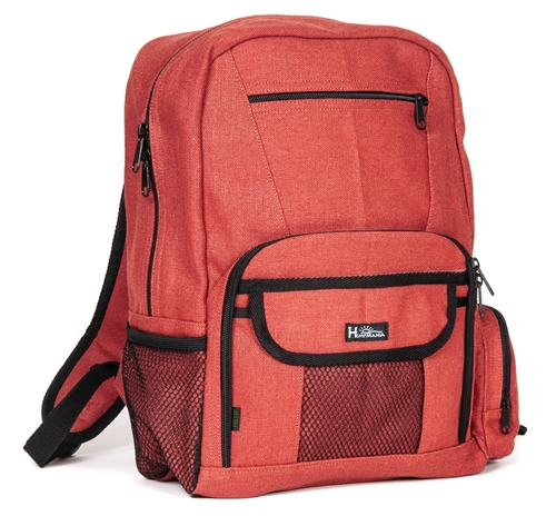 BP109-H Hemp Deluxe Backpack