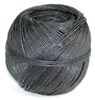 20lbs Hemp Twine Black-Thin 1 mm