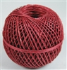 20lbs Hemp Twine Red-Thin 1mm