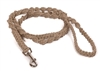 HL100-H Hemp Cord Macrame Leash
