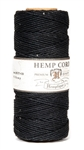 HS20CO-Black-20lbs Hemp Cord