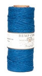 HS20CO-Blue-20lbs Hemp Cord