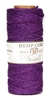 HS20CO-Purple-20lbs Hemp Cord