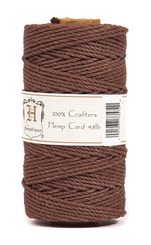 HS48CO-Brown-48lbs Hemp Cord