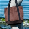 PUR134-H Hemp Boat Tote-Medium