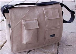 PUR143-H Hemp Urban Book Bag