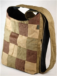 PUR147-CRP Hemp Corduroy Mini Street Fair Tote