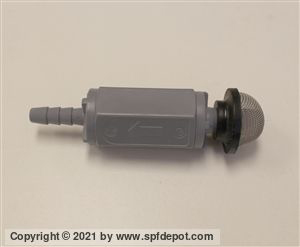Inlet Check Valve for TSL Bottles on Graco, Gusmer, PMC, GlasCraft Proportioners