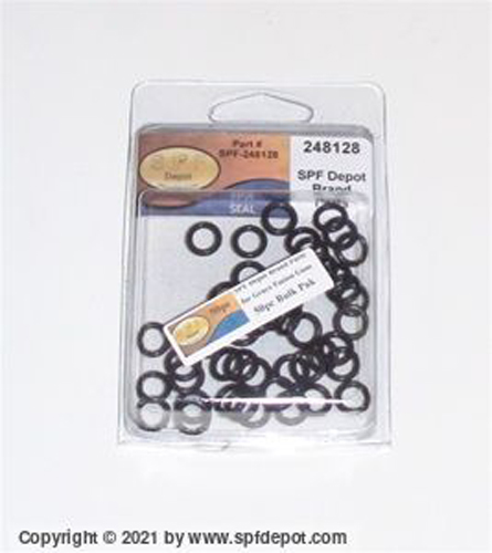 O rings for the Fusion guns Side Seal O-Ring - 50/Pack