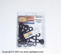 248133 O Rings for Graco Fusion Gun Check Face O-Ring - 50/Pack