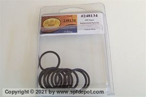 Piston Shaft O-Ring - 10/Pack