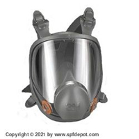 6000 Series 3M Respirator Mask - Medium and Large