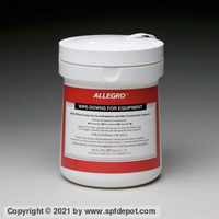 Allegro® 5001 Equipment Wipe Downs - Pop-up Canister