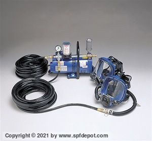 Allegro Two Worker Mask System Hose