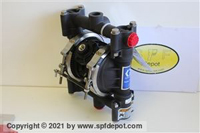 Graco husky 715/716 diaphragm transfer pump. stainless steel.