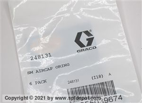 Graco 248131 Air Cap O-Ring Kit