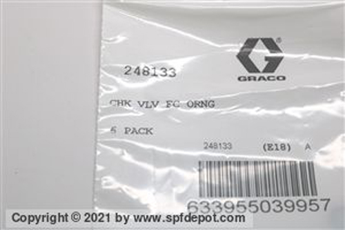 Graco O-rings for Fusion AP Gun