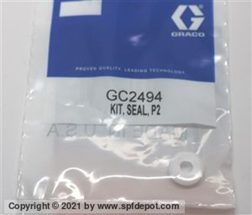Graco GC2494 P2 Probler side seal Seat