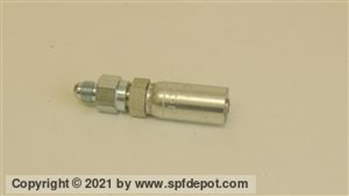06 JIC Male Hose Fitting for POLY Line