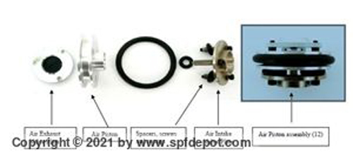 IPM IP02 Air Piston Assembly