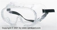 Clear Anti-Fog Safety Goggle - Vented