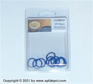 SPF 248095 Purge Rod O-Ring 10 Pack for MP Guns
