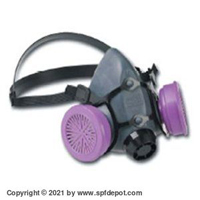 North 550030L Half Face Respirator Mask