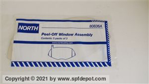 North 80836A Peel Off Lens Protectors - 15pc