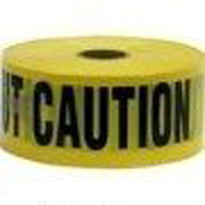 CAUTION Tape. 1000' Roll