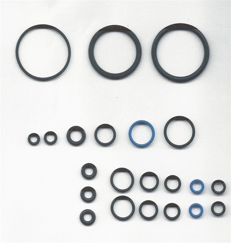 Complete DuPont™ Viton O-ring Kit  for GlasCraft,Graco P2 Guns